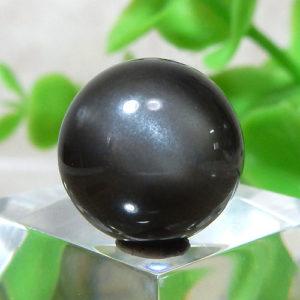 ブラックムーンストーン AAA ラウンド 約12mm程度 023(BS460RD023)