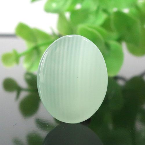 グリーンカルサイト AAA オーバルカボション 001-1