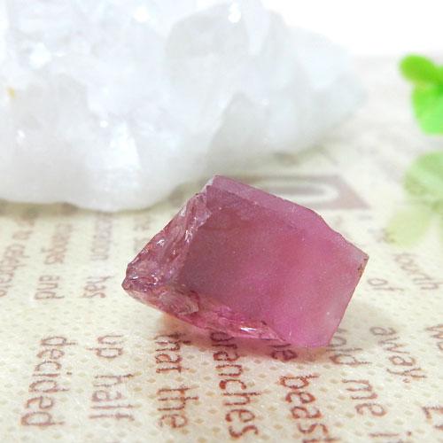 ピンクトルマリン AAA 結晶(穴なし) 005-0
