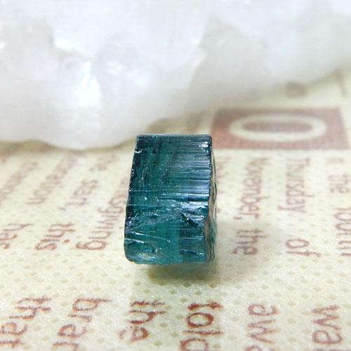 インディゴライトトルマリン AAA 結晶(穴なし) 006-0