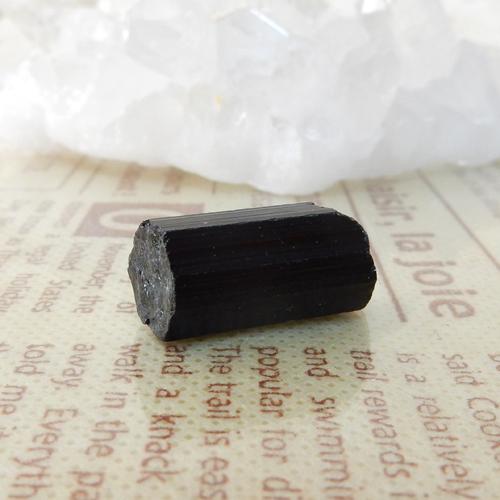 ブラックトルマリン AAA 結晶(穴なし) 007-0