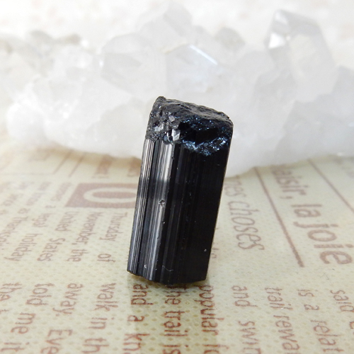 ブラックトルマリン AAA 結晶(穴なし) 007