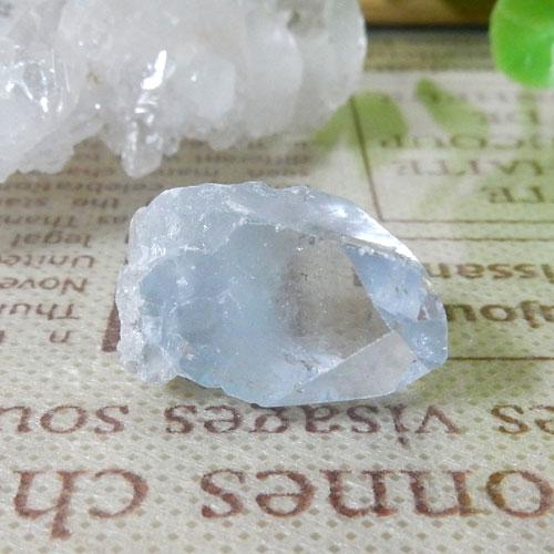 マダガスカル産セレスタイト AAA 結晶(穴なし) 005-0