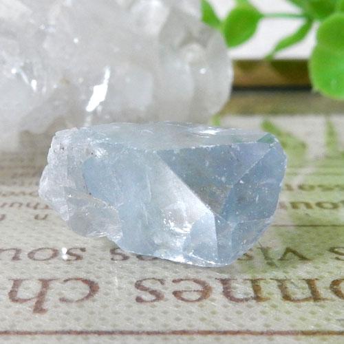 マダガスカル産セレスタイト AAA 結晶(穴なし) 005-1