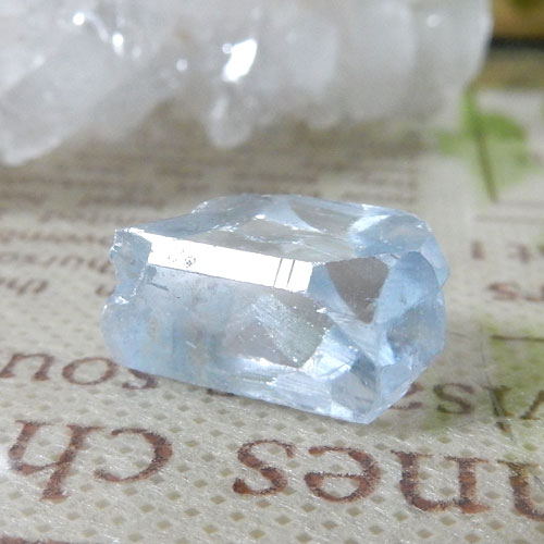 マダガスカル産セレスタイト AAA 結晶(穴なし) 007-1