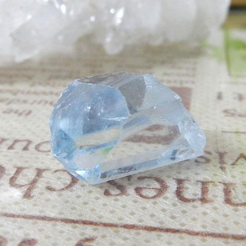 マダガスカル産セレスタイト AAA 結晶(穴なし) 007