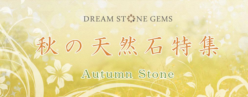 秋の天然石特集♪